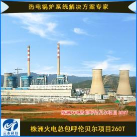 株洲火电总包呼伦贝尔项目260T