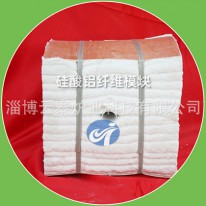 Aluminum silicate fiber module