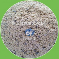 Corundum wear-resistant and refractory castable